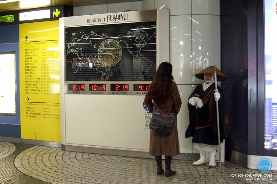 32-dans la gare de shinjuku