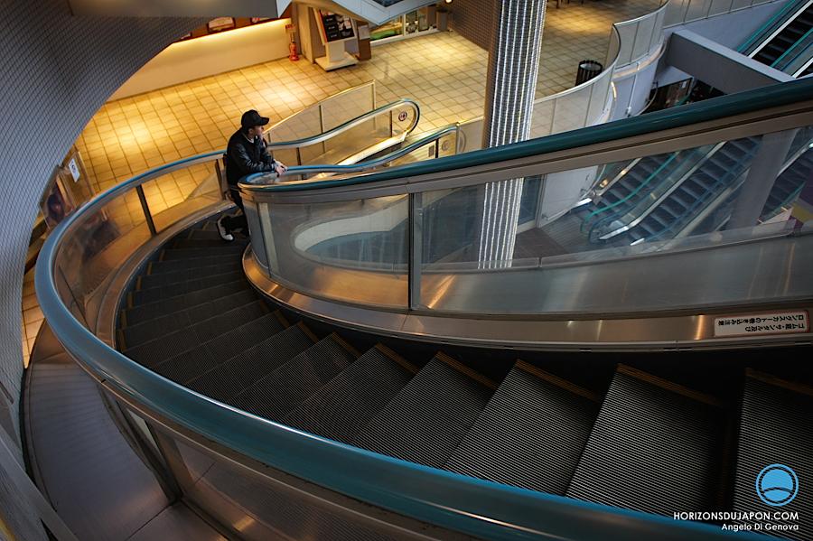 escalator-arrondi-osaka