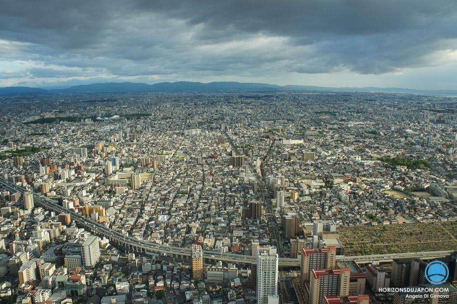Sud d'Osaka-panoramique
