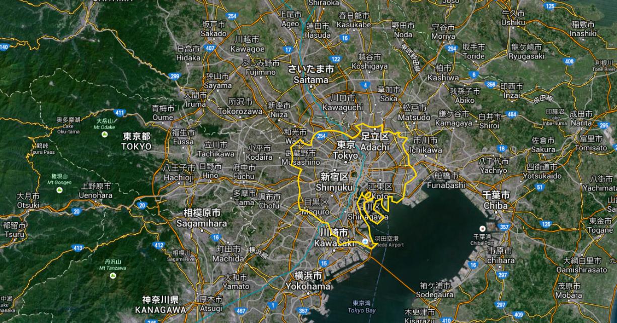 Cliquez pour agrandir (via Google Map)