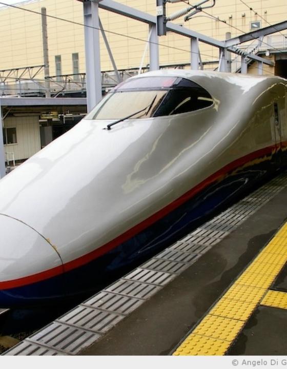 Le Shinkansen, train à grande vitesse japonais