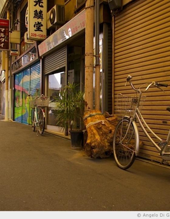 La Shotengai abandonnée – 稲荷商店街