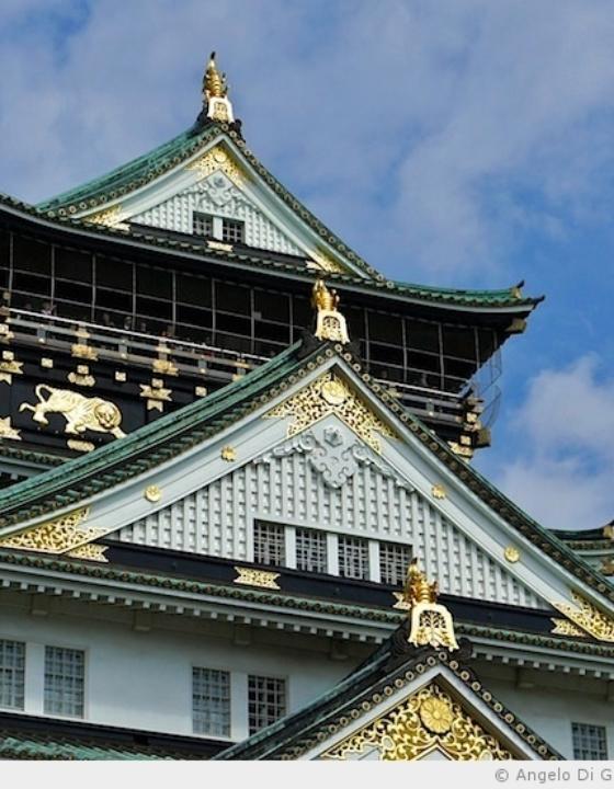 L'impressionnant château d'Osaka