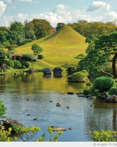Le jardin Suizenji à Kumamoto