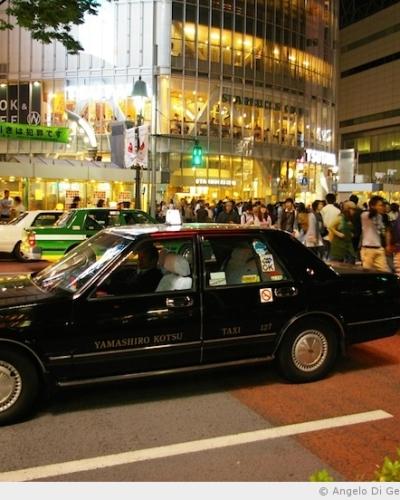Balade nocturne à Shibuya après le 11 mars