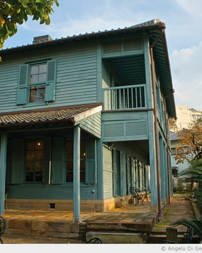 Les maisons des étrangers de Nagasaki