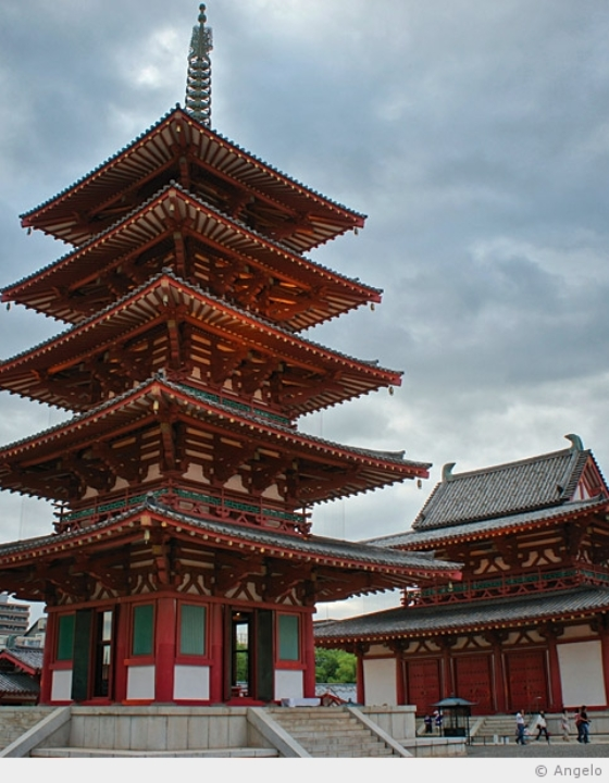 Shi Tennô-ji, le plus vieux temple bouddhiste du Japon