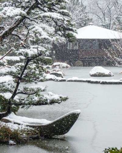 Osaka sous la neige