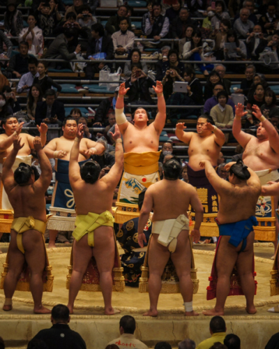 Assister à un tournoi de Sumo à Osaka